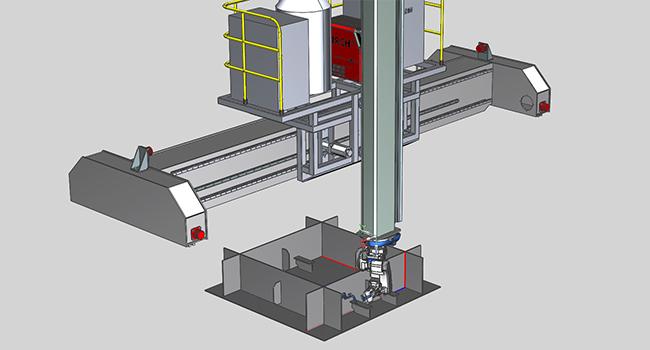 650X350-九轴联动焊接工作站